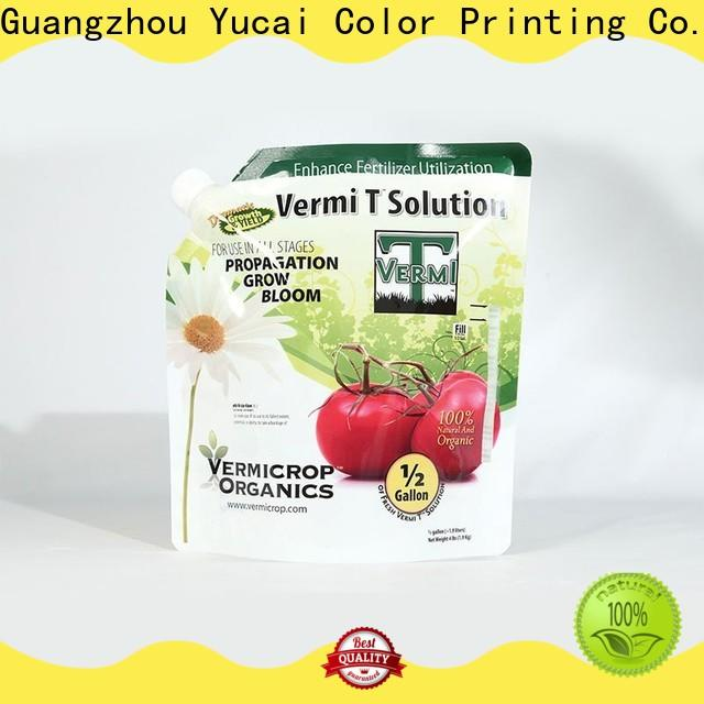 Yucai quality fertilizer packaging series for industry