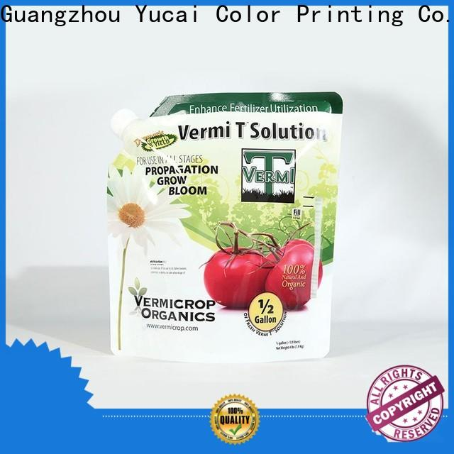 Yucai hot selling fertilizer packaging series for food