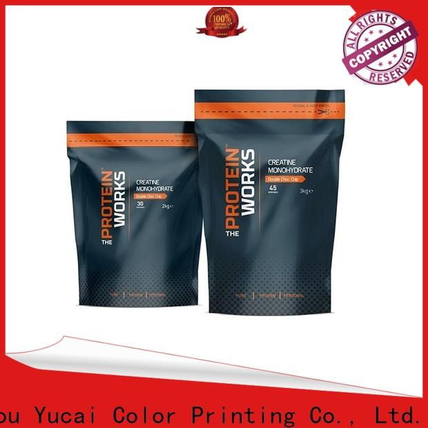 Yucai printed food packaging bag inquire now for industry