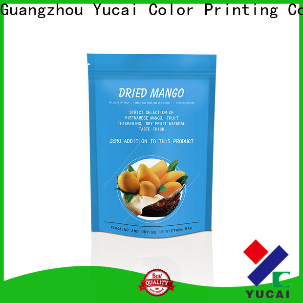 Yucai food packaging supplies design for drinks