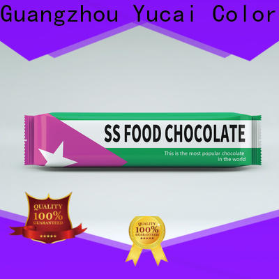 Yucai chocolate packaging supplies manufacturer for commercial