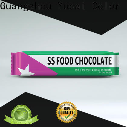 Yucai practical chocolate packaging supplies directly sale for food