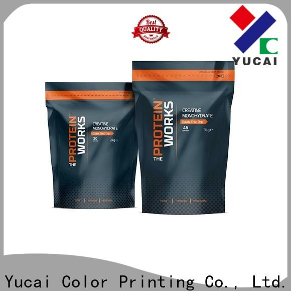 Yucai excellent food packaging bags with good price for food