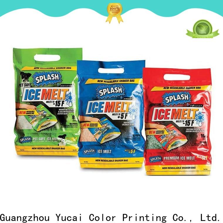 Yucai detergent packaging with good price for industry