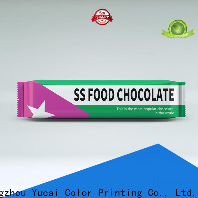 Yucai chocolate packaging supplies series for industry