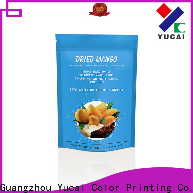 printed food packaging supplies design for drinks
