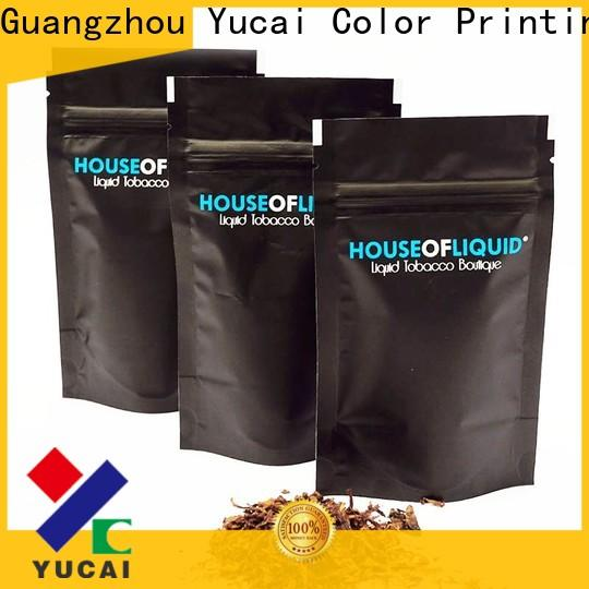 Yucai stable bag of tobacco factory price for food