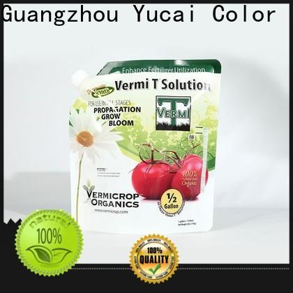 Yucai fertilizer packaging directly sale for industry