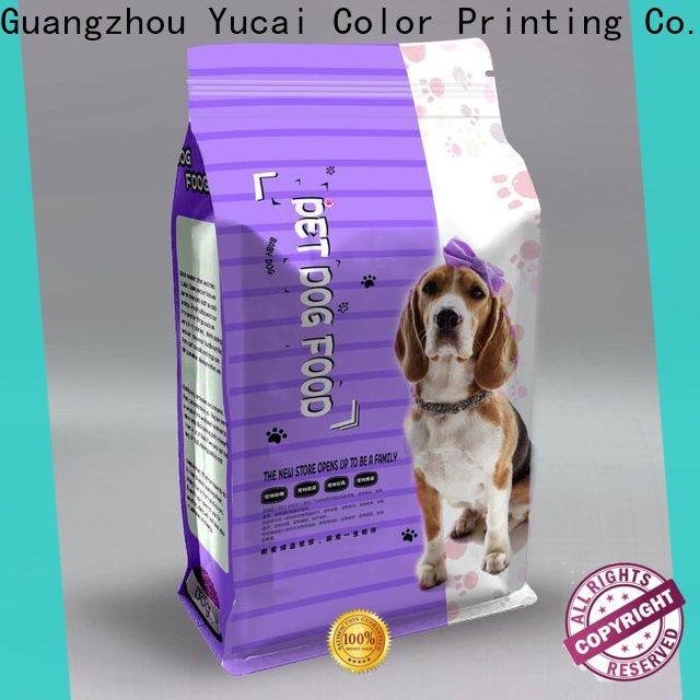 Yucai pet food packaging series for food