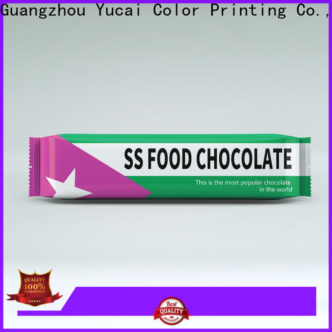 Yucai quality chocolate packaging supplies series for industry