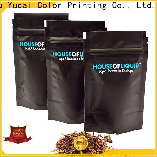 Yucai tobacco pouch factory price for food