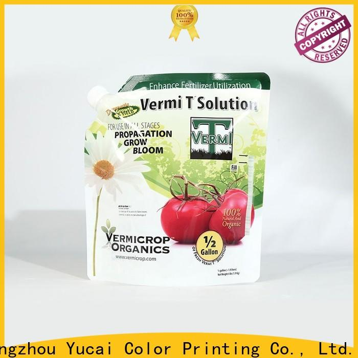 Yucai fertilizer packaging from China for food