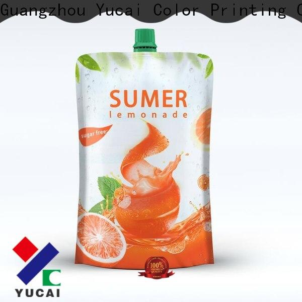 efficient beverage pouches design for industry