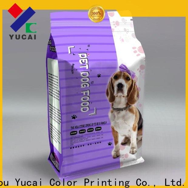 hot selling pet food packaging bag series for commercial