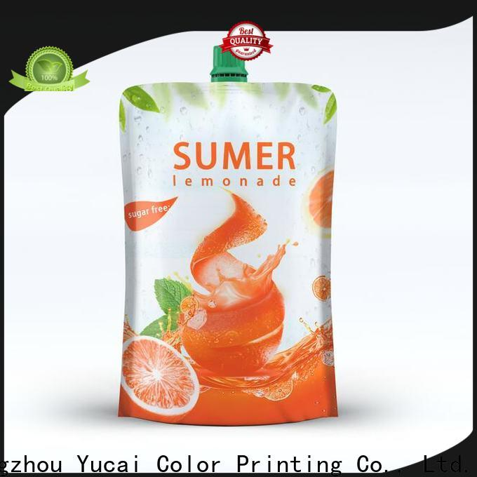 Yucai pouch packaging inquire now for industry