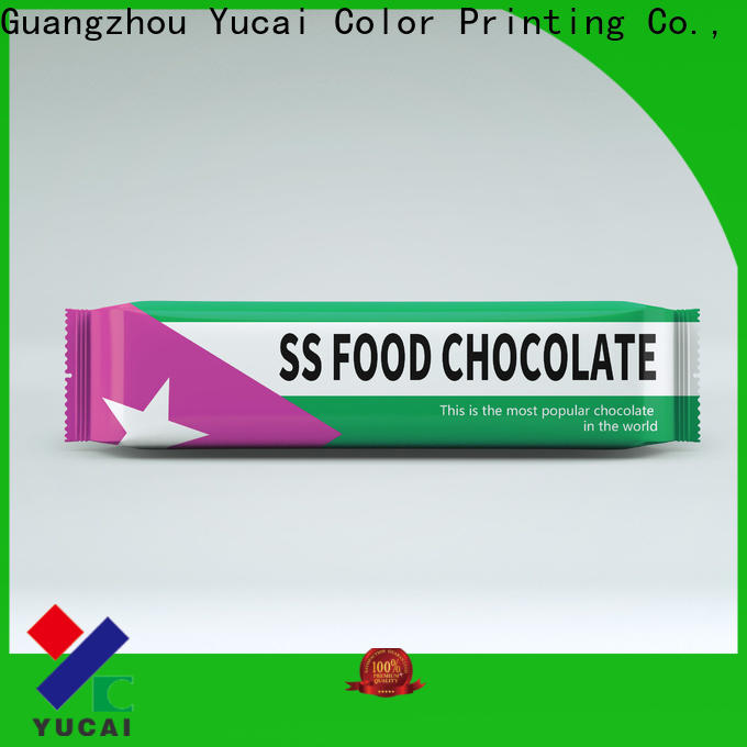 Yucai chocolate packaging directly sale for commercial