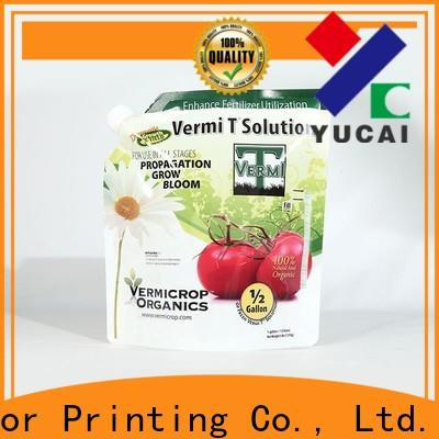 Yucai durable fertilizer packaging customized for commercial