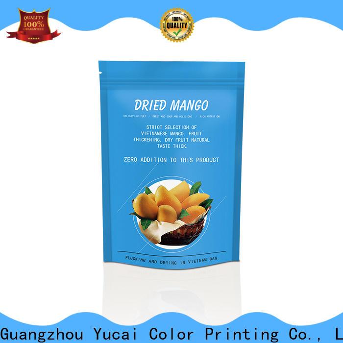Yucai printed food packaging supplies design for food