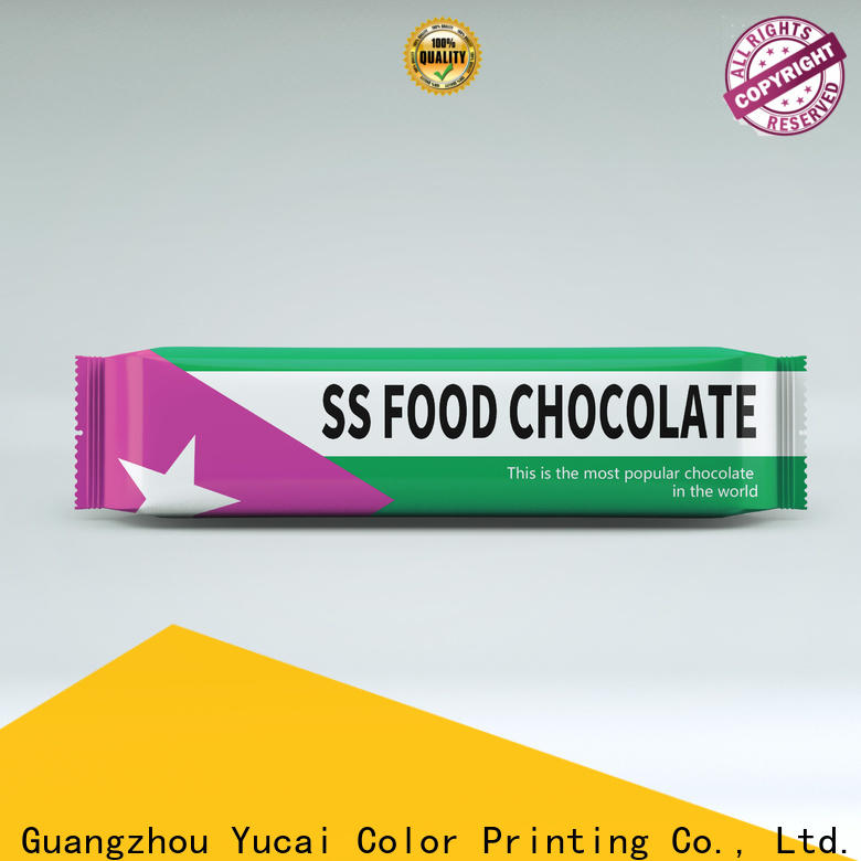 Yucai chocolate packaging supplies customized for industry