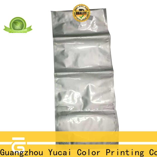 Yucai plastic packing bags manufacturer for industry