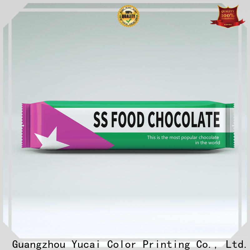 Yucai chocolate packaging supplies from China for food