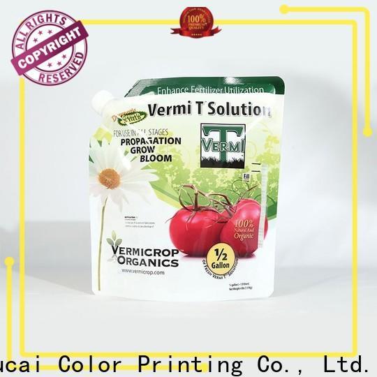 Yucai fertilizer packaging manufacturer for industry