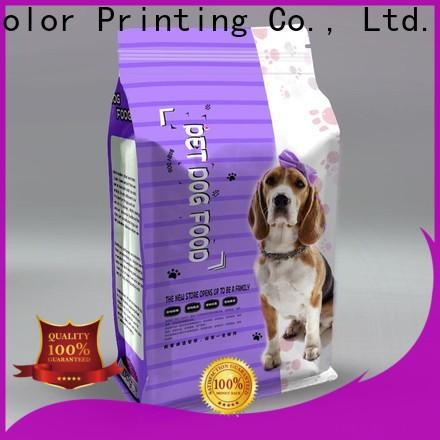 practical pet food packaging bag from China for drinks