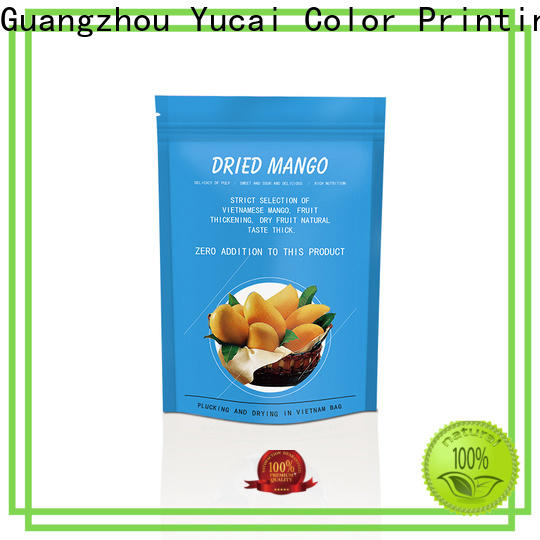 Yucai approved food packaging supplies factory for industry