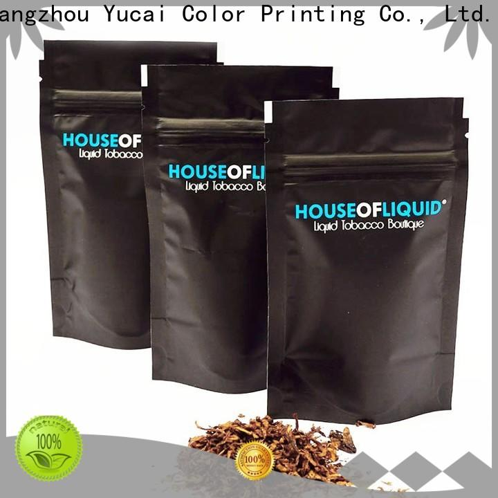 Yucai tobacco pouch supplier for commercial