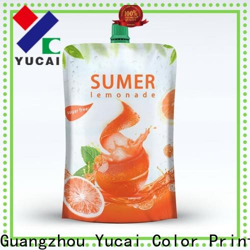 Yucai efficient pouch packaging design for industry