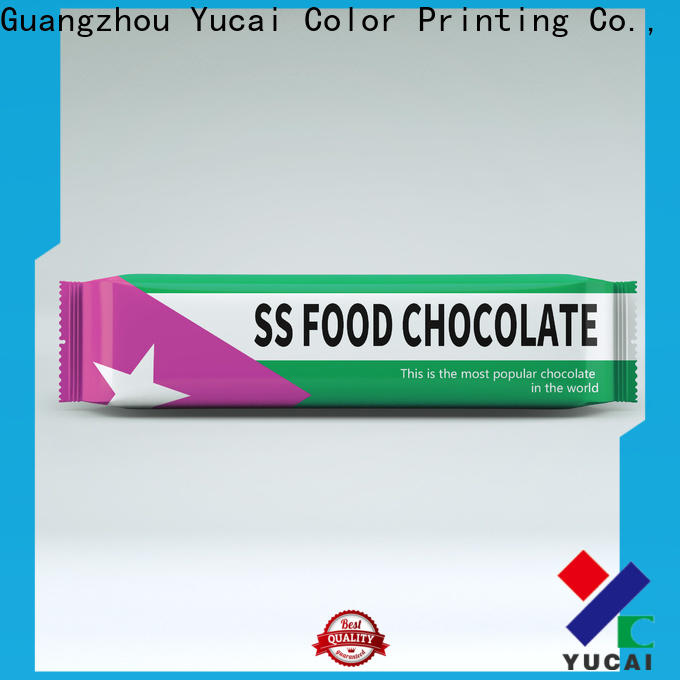 Yucai practical chocolate packaging supplies manufacturer for commercial