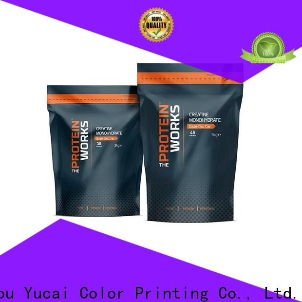 Yucai excellent food packaging supplies with good price for food