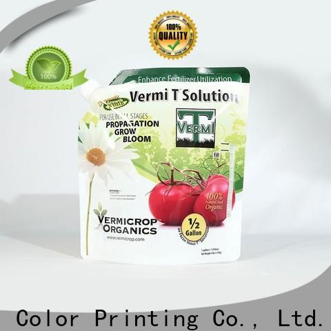 Yucai quality fertilizer packaging from China for food