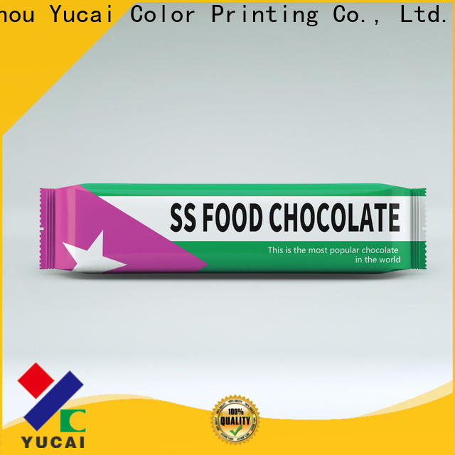 Yucai hot selling chocolate packaging supplies manufacturer for food