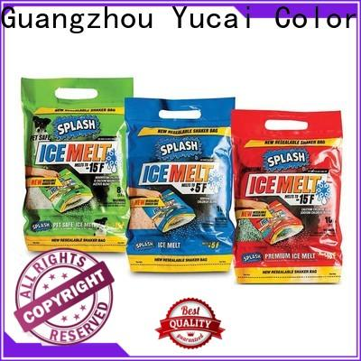 Yucai efficient plastic packaging factory for commercial