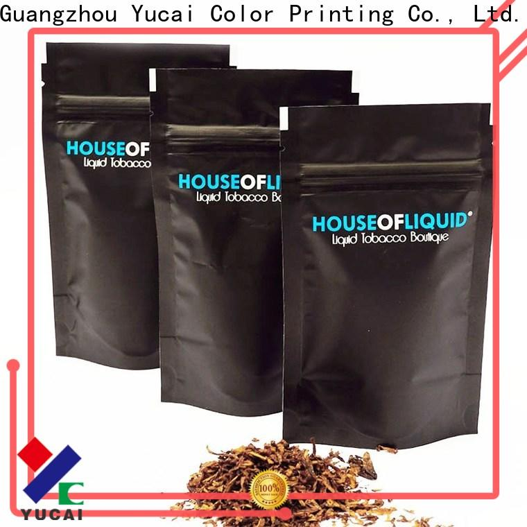 Yucai quality tobacco pouch wholesale for industry