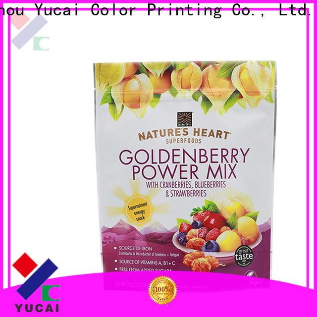 Yucai food packaging bag factory for food
