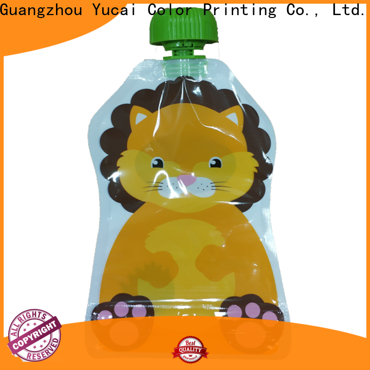 Yucai spouted pouch packaging with good price for commercial
