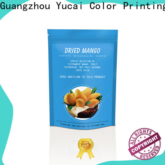 Yucai food packaging supplies with good price for drinks