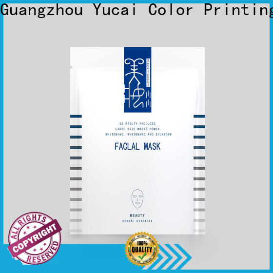 Yucai reliable face mask packaging directly sale for food