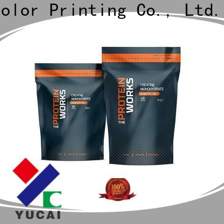 Yucai food packaging supplies design for commercial