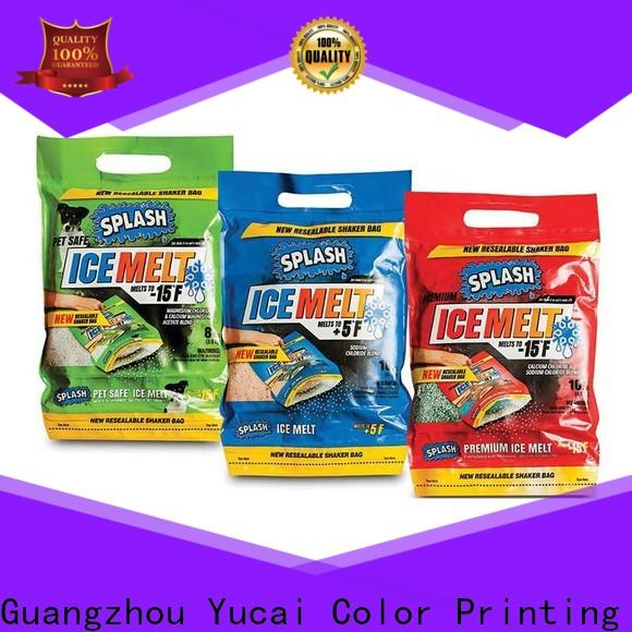 Yucai plastic packaging design for commercial