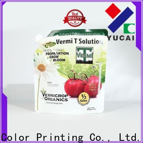 Yucai hot selling fertilizer packaging customized for food