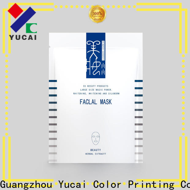 Yucai practical custom cosmetic packaging customized for food